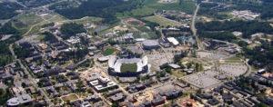 Aerial of Auburn, AL