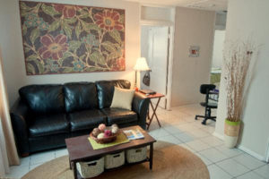 Living Room of Columns Apartments in Auburn, AL