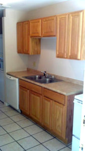Kitchen of Columns Apartments in Auburn, AL